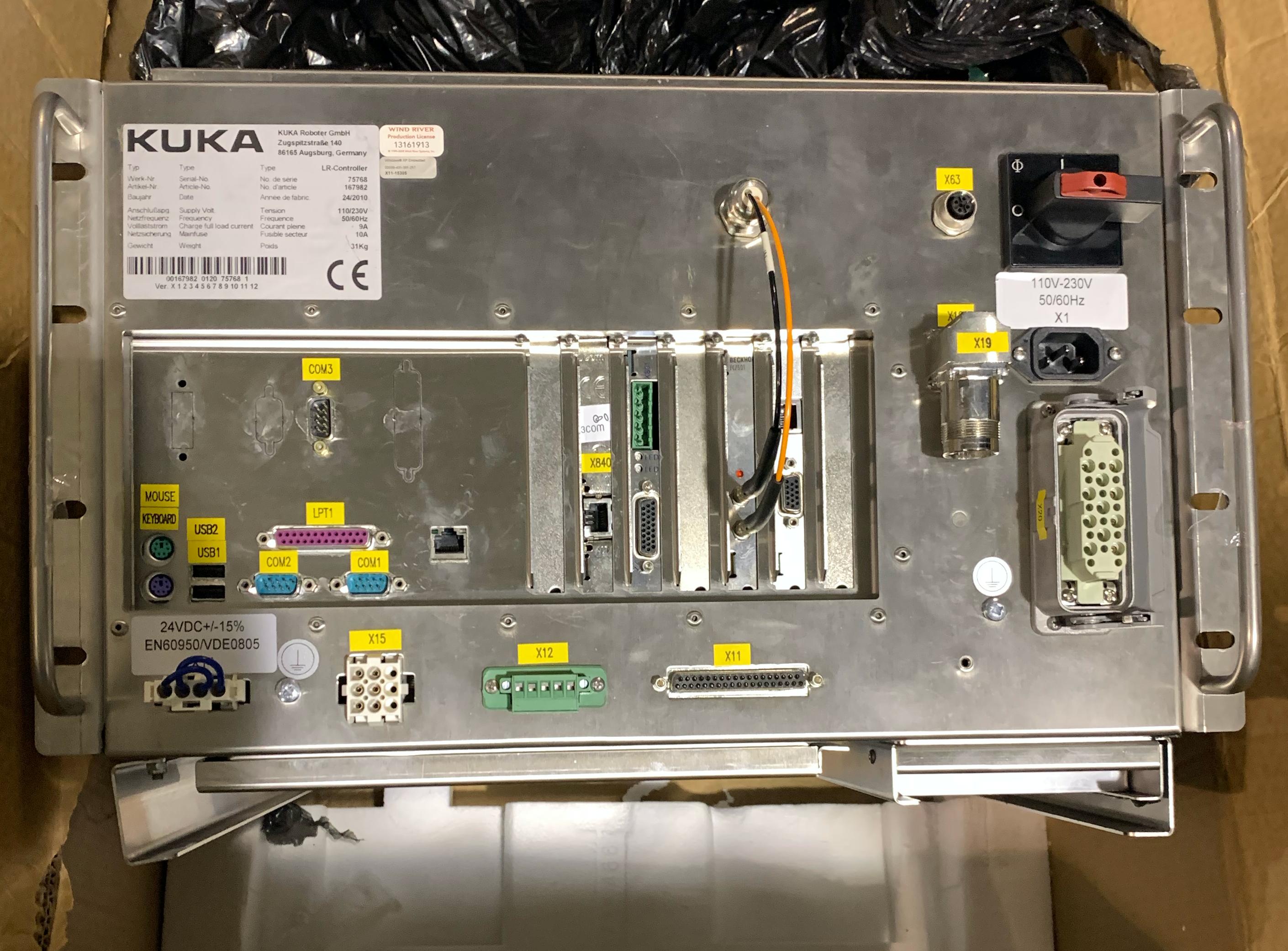 KUKA COLLABORATIVE  LBR 7 AXIS IIWA IV+ 7KG X 790R ROBOT WITH LR KUKA CONTROLLER
