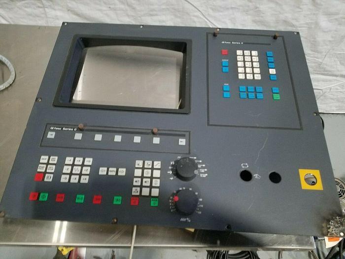 Used GE Fanuc Series O Control Panel from Enco PC Turn 125 Lathe