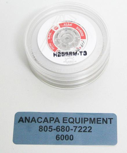 Used Asahi Diamond Wheel Blade H255RM-T3 LOT of 3 (6000)