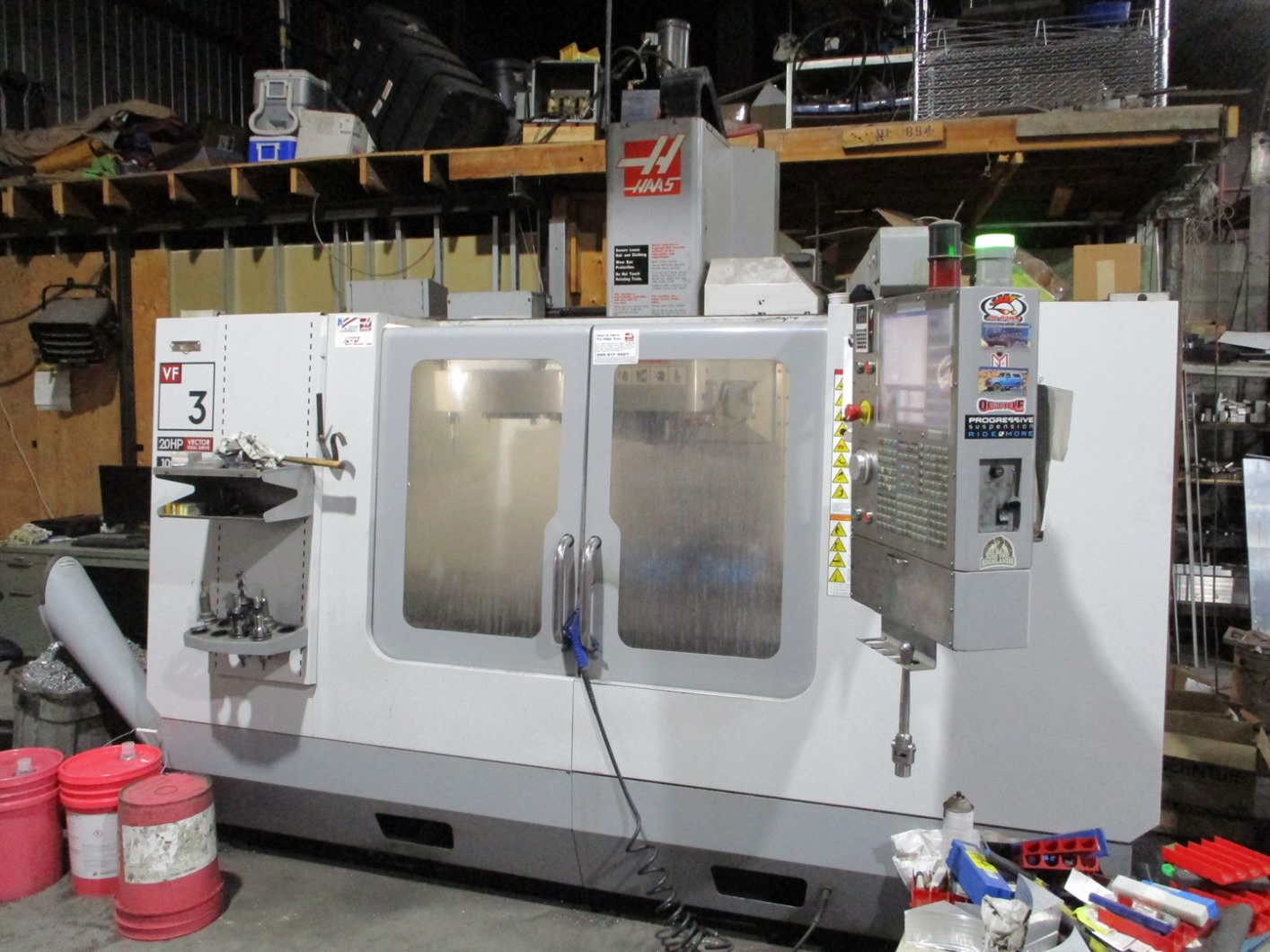 "40""X, 20""Y, 25""Z, HAAS, VF-3, 2008, CNC VERTICAL MACHINING CENTER"