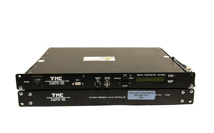 Used TMC DC-2000 Digital Controller Precision Valve Controller from VX330 AFP (4061)