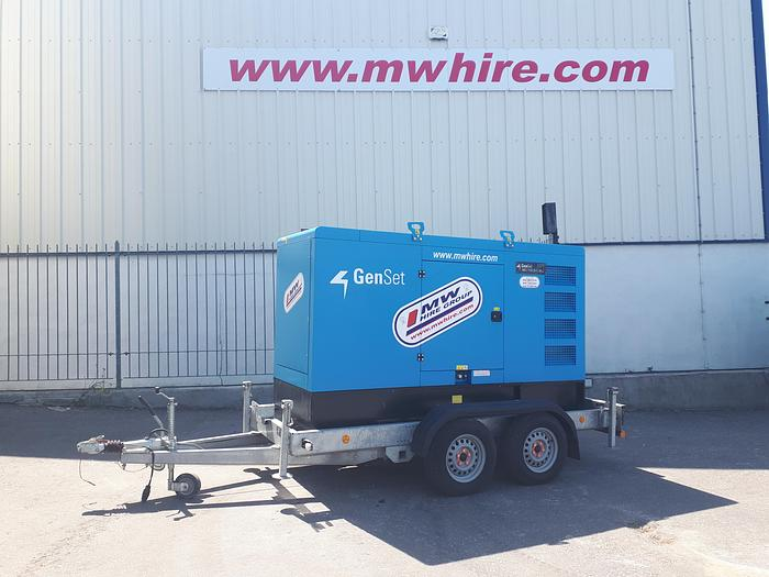 Used Genset MG 110 S-I - Road Tow - Rental Spec