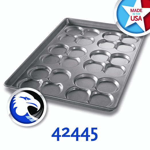 CLUSTERED MOULD HAMBURGER BUN/MUFFIN TOP/COOKIE PANS