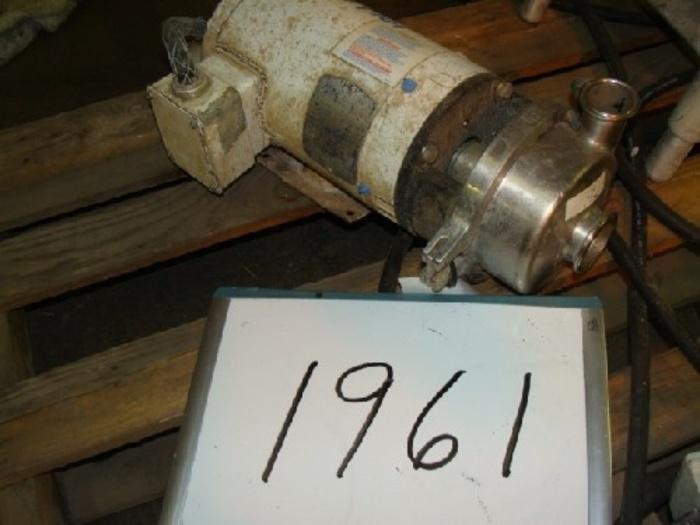 268450-01 2'' x 1 1/2'' Cherry-Burrel Centrifugal Pump #1961