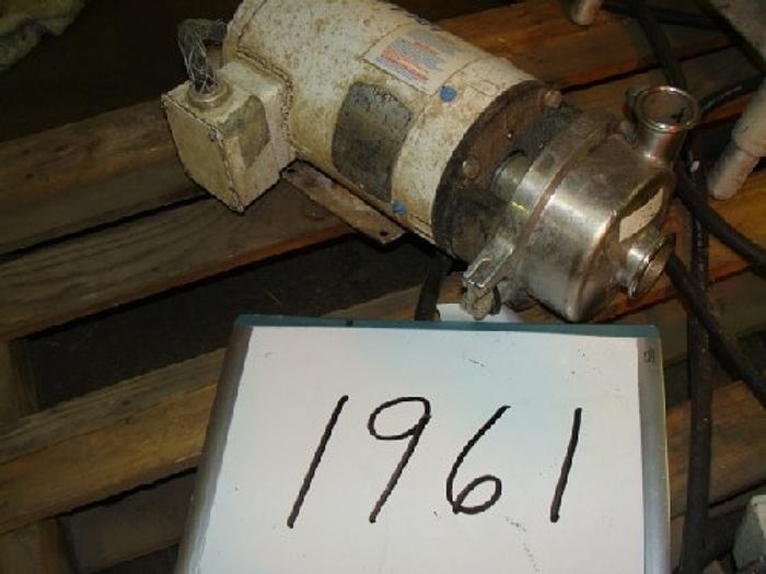 Used 2'' x 1 1/2'' Cherry-Burrel Centrifugal Pump
