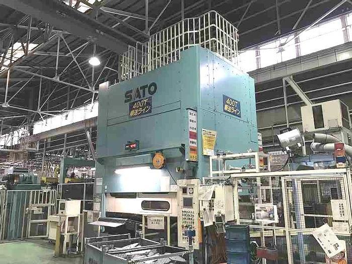 Used Sato CL-400-250-170