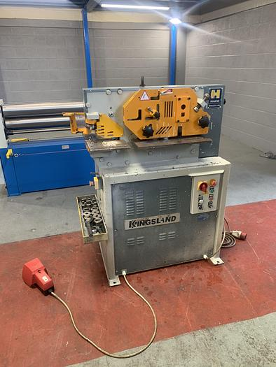 Used Kingsland Compact 40 4 station steelworker