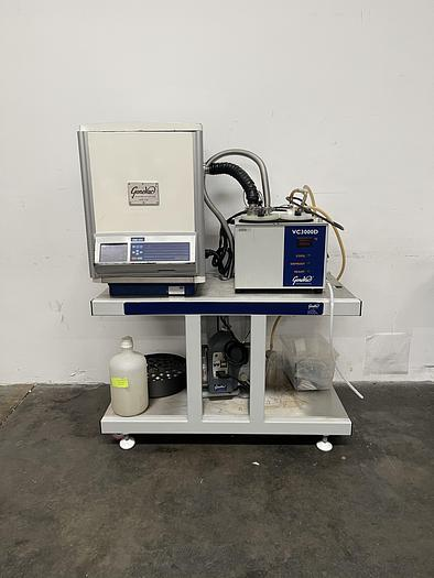 Used GeneVac HT-12 Series II Evaporator w/ VC3000D Condenser and Edwards XDS5 Pump