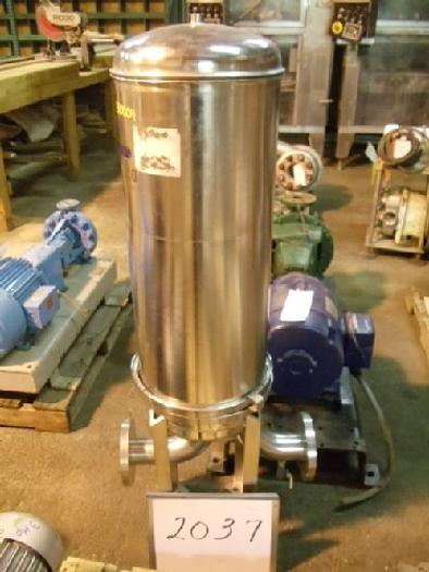 Used Mensco Stainless Steel Vertical Filter,