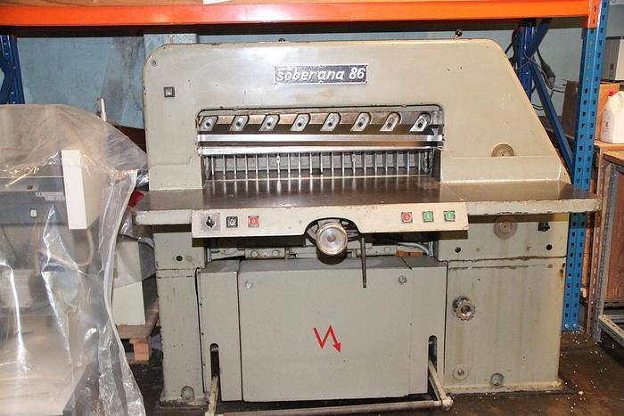 Electric guillotine SOBERANA 86