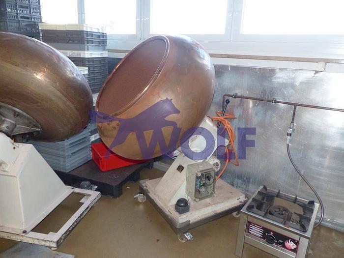 Gebraucht Kupferdrageemaschine WALTER BRUCKSModell 11 mit 3 Geschwindigkeiten.