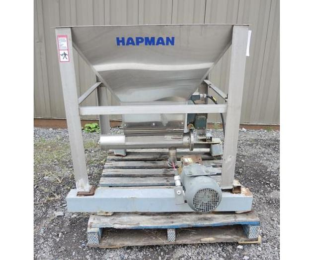 USED LUMP BREAKER, 1.5 HP, STAINLESS STEEL