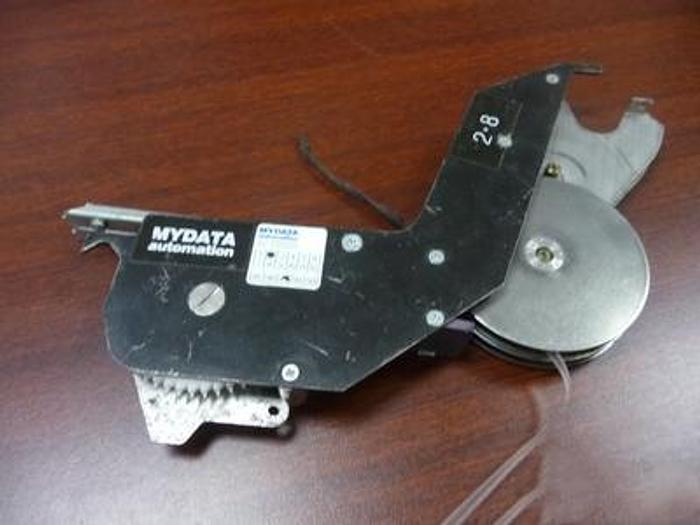 Used MYDATA  FLEX 2 x 8mm SMT FLEX reel feeder L014-0410 TMCFLEX TMDFLEX