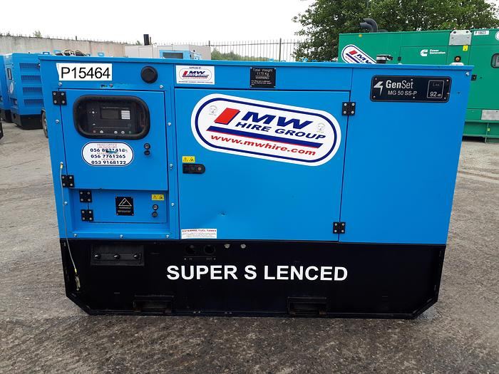 Used 2018 Genset MG50 SS-P