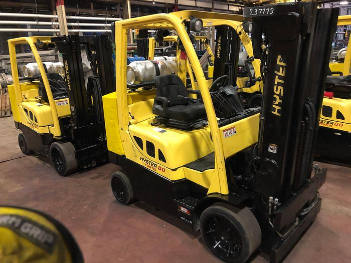 Used 8,000 POUND HYSTER MODEL S80FTBCS MFG. 2013 5,700 HOURS
