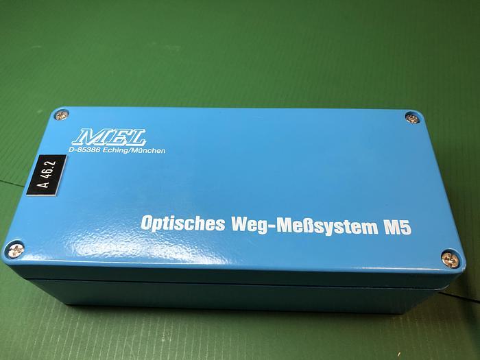Used MEL M54L/100-10B24NK optical distance sensor