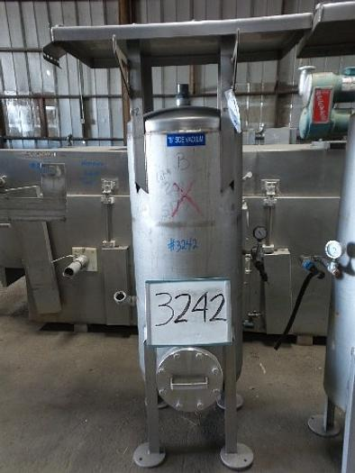 75 Gallon Stainless Steel Vacuum Tank #3242