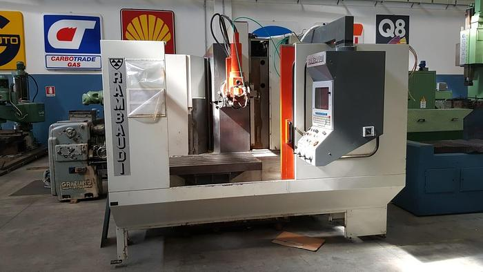 FRESATRICE VERTICALE RAMBAUDI VERSAMATIC 500 CNC