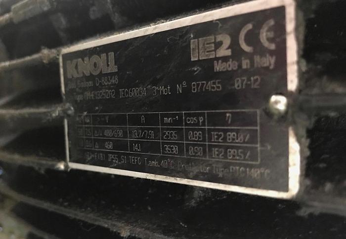 2007 Vakuumbandfilteranlage Bandfilteranlage KNOLL  VL  1000 / 4000