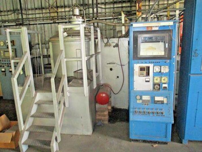 WALL COLMUNOY 4'X 4' VACUUM FURNACE/STOKES 7 1/2HP/ VACUUM / ROUGHING /DIFFUSION