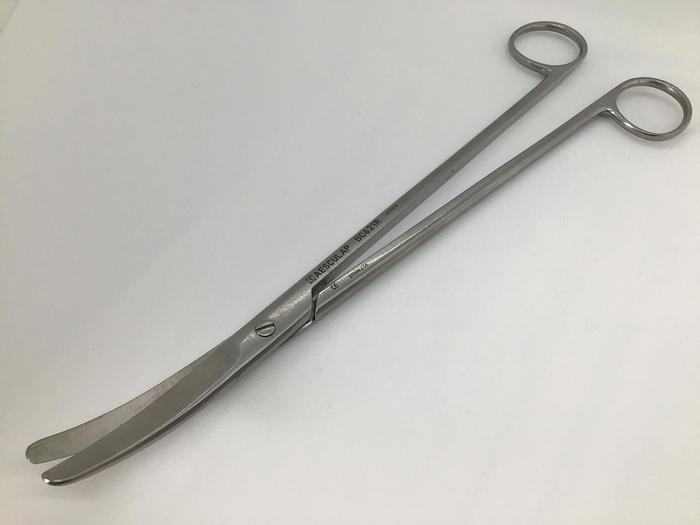 Used Scissor Rectal Lloyd Davies (GOLIGHERS) Curved 270mm (10-3/4IN) AESCULAP BC621R