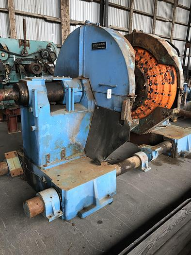 Used Kockums 245A, Chipper canter