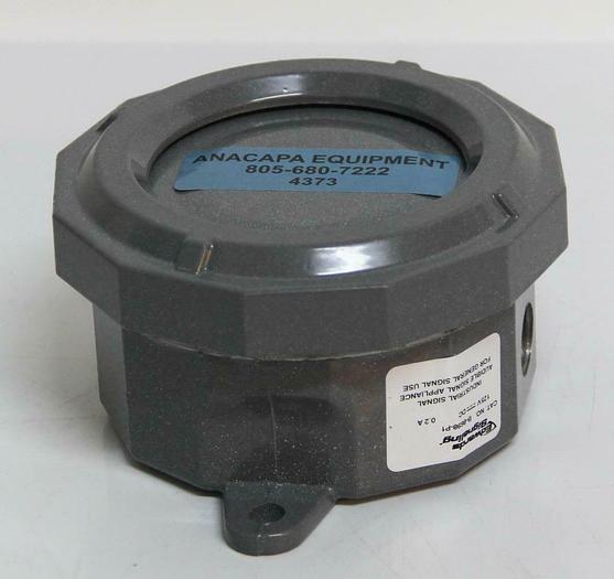 Used Edwards Signaling B-8698-P1 Audible Signaling Device 125 VDC 103 Ohms (4373)