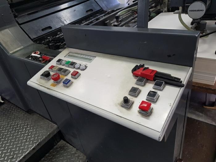 1998 Heidelberg Speedmaster SM 74-4 H + L