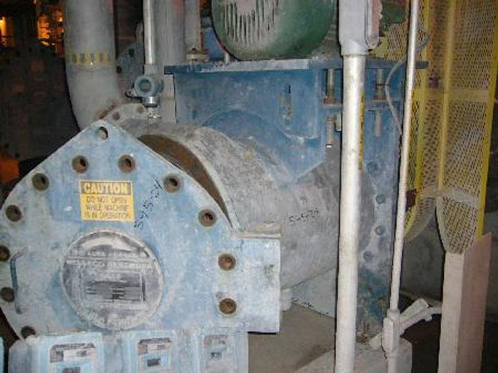 Used CELLECO GAULD MDL CPF-C-275-195 PRESSURE SCREEN, S/S 1995