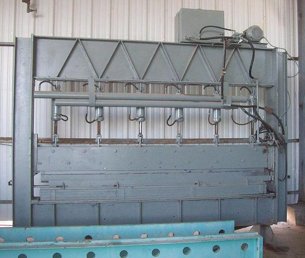 Used Custom Built All Steel Hydraulic Press Brake