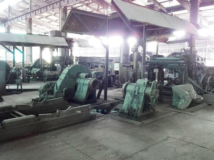 Used Two (2) 1600 mm SCAL Aluminum Twin-Roll Strip Casters: MC-439