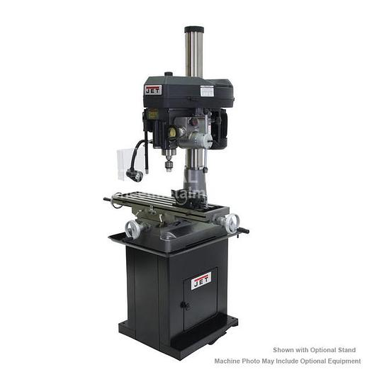 JET JMD-18 Mill/Drill With R-8 Taper 115/230V 1Ph 350018
