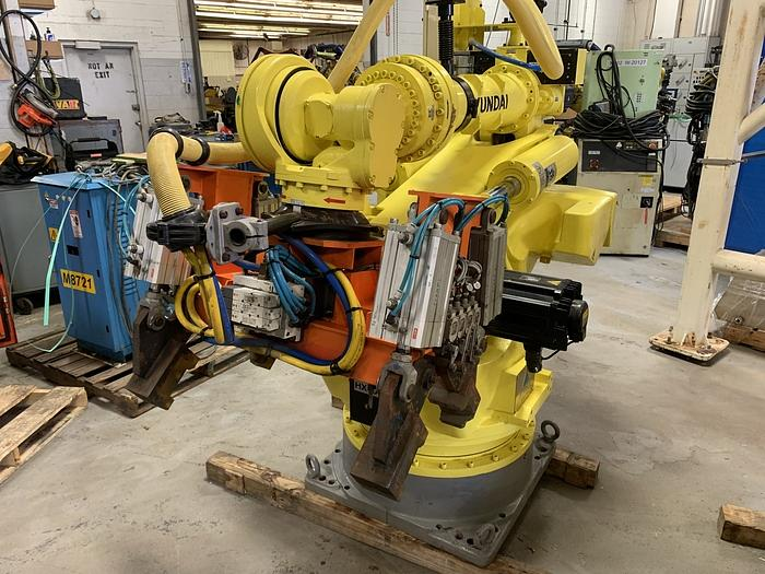 2013 HYUNDIA LIKE NEW HX400 6 AXIS CNC ROBOT