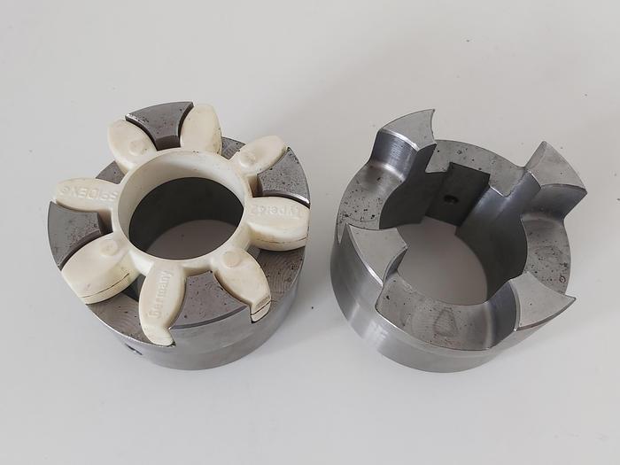 Klauenkupplung, Gr. 42, D1 60mm, D2 60mm, GG or ST,  neu