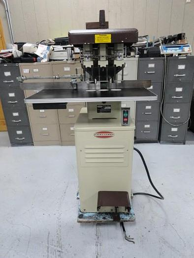 Used Challenge EH-3A 3 Hole Drill Floor (Brown)