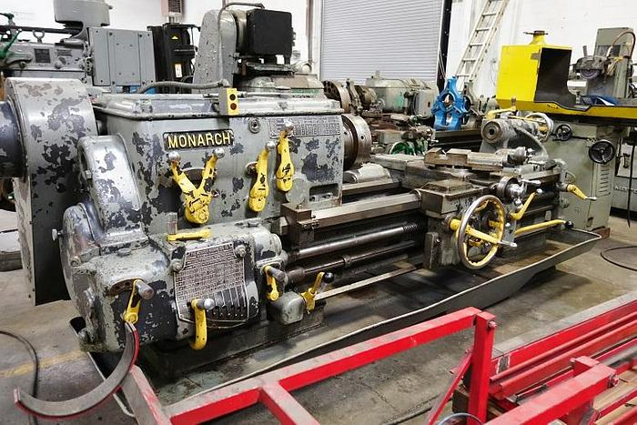 "Monarch Heavy Duty 22"" x 48"" Engine Lathe Metal Lathe"