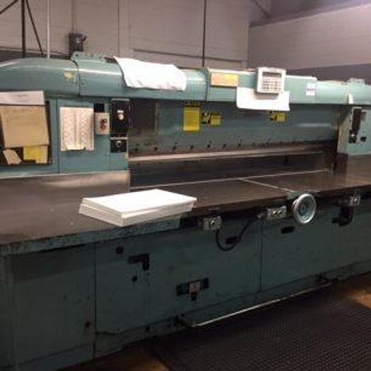 """Used 85"""" (2.15M) SEYBOLD CJH-MS GUILLOTINE CUTTER WITH COMPUTER"""