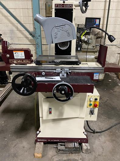 Used Chevalier 618M surface grinder w/  Newal readouts