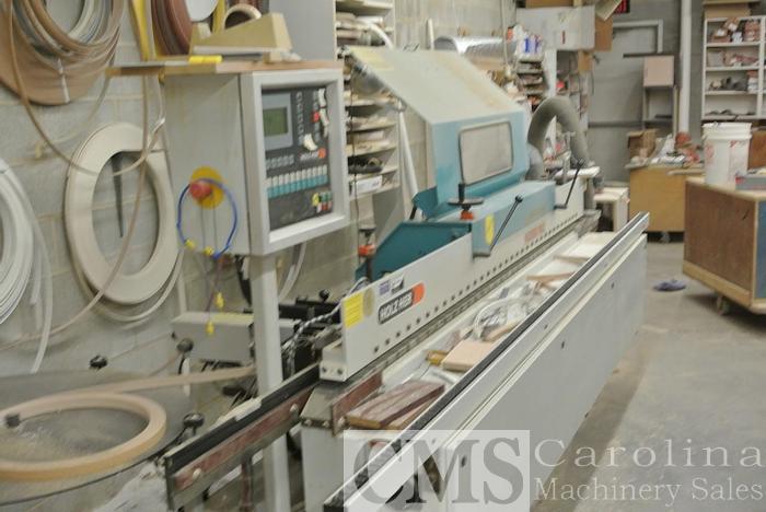 Used 2000 Holz-her 1435 SE PLC Edgebander