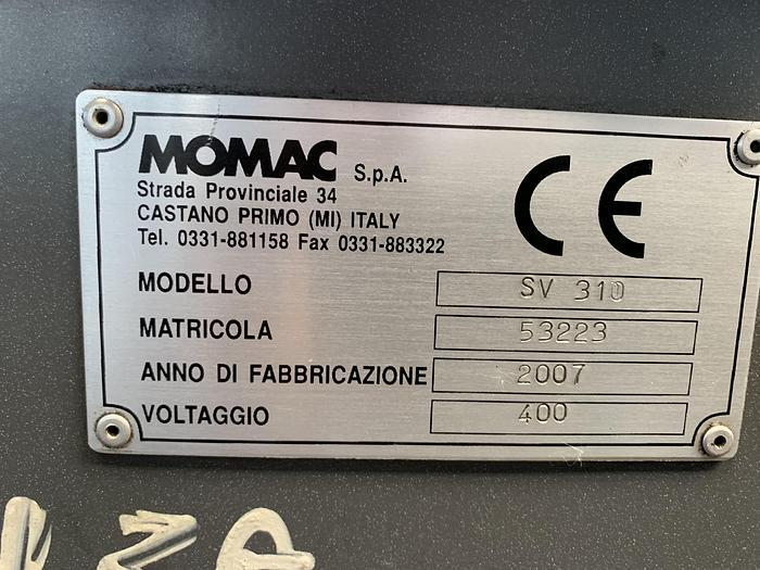 Tornio parallelo MOMAC SV 310