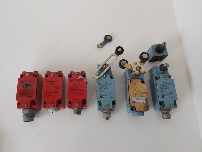 Gebraucht 6 Stück Endschalter, XCK J, Telemechanique,  gebraucht