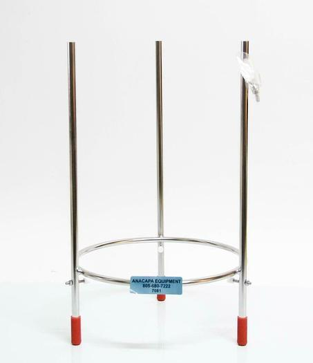 Broadley James B5-11314-015 15L Bioreactor Stand w/ Adjustable Braces NEW (7081