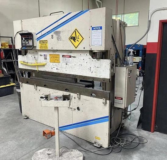Used 60 TON X 8' WYSONG MTH-6096 HYDRAULIC CNC PRESS BRAKE #5678