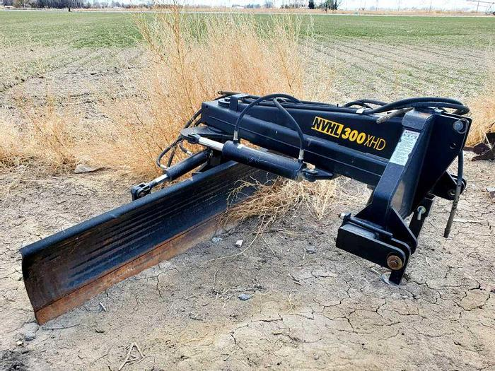 Used 10' Bison 3pt Blade - Hydraulic