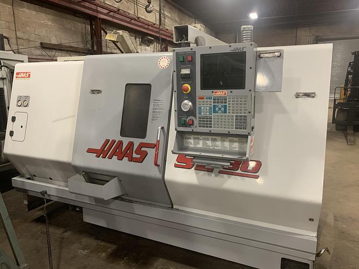 Used HAAS, SL-30T, 2002, CNC LATHE