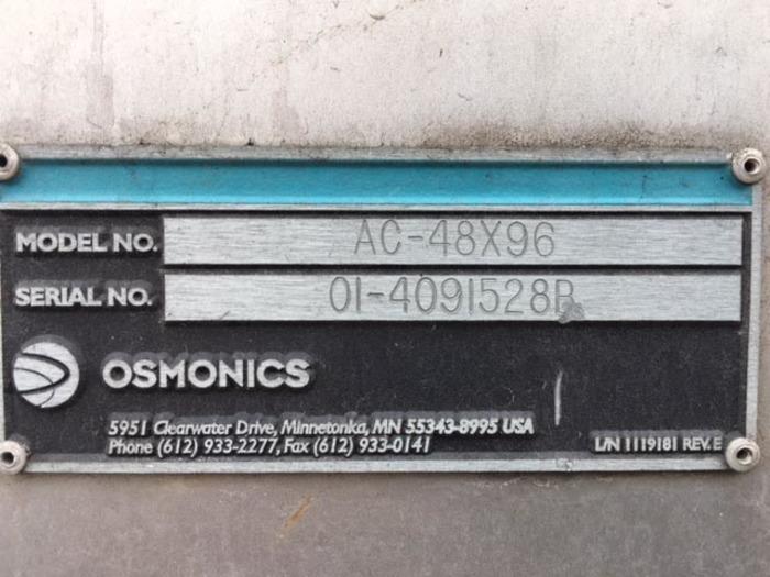2001 Osmonics AC-48X96