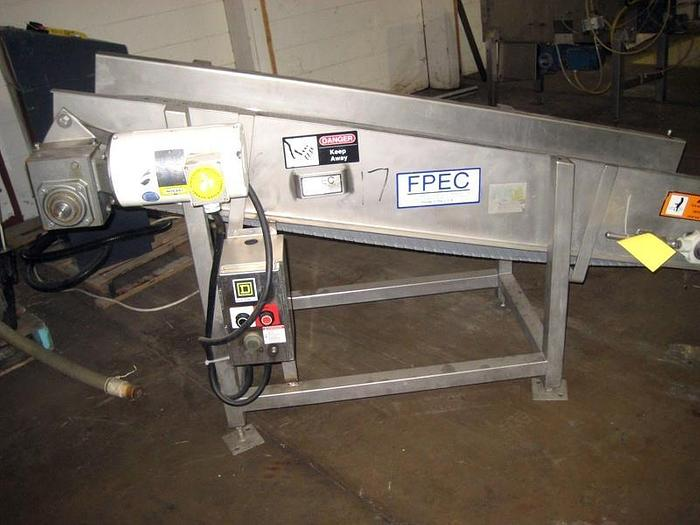 FPEC STAINLESS STEEL INCLINE CONVEYOR