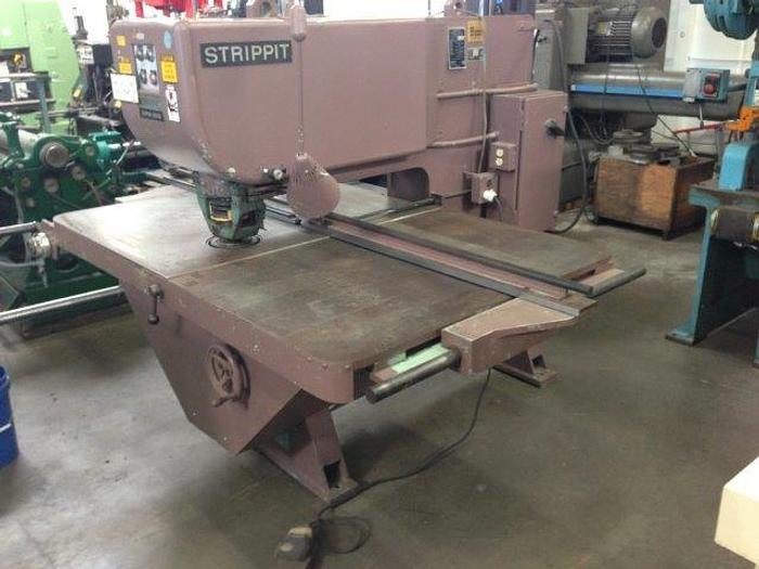 "Used 30 Ton, STRIPPIT SUPER 30/30, 30"" Throat, 48"" x 72"" Table [4116]"