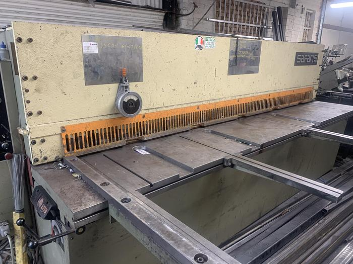 Used SAFAN VR variable angle 3000mm x 6mm shear