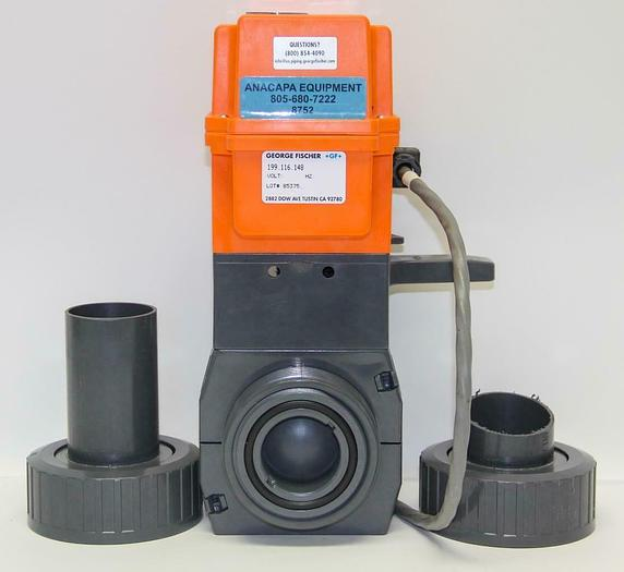 Used George Fischer +GF+ 199.116.148 Electric Actuator Type EA 20 198.150.431 (8752)W